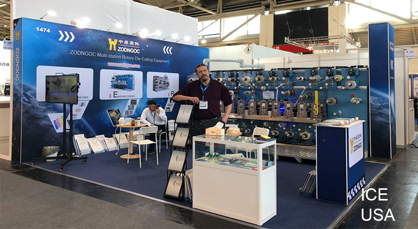 ICE International Converting Exhibition in Orlando——ZODNGOC